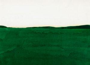 湿原を描いた絵画作品