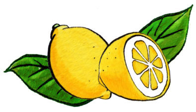 レモンペン画