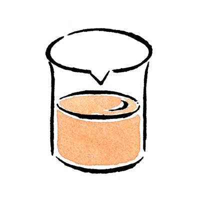マルハチのかつお出汁工程のドローイングイラスト