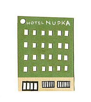 十勝地方の情報を発信するウェブメディア「トカチナベ」のホテルヌプカのイラスト