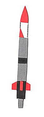 十勝地方の情報を発信するウェブメディア「トカチナベ」のホリエモンのロケットのイラスト