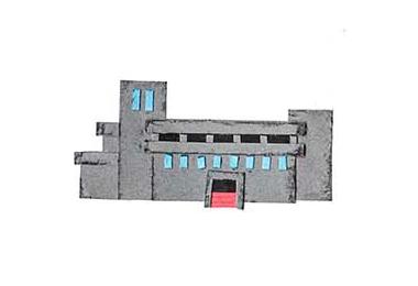 十勝地方の情報を発信するウェブメディア「トカチナベ」のワイン城のイラスト