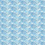 和柄パターンイラストの波