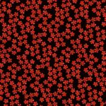 和柄パターンイラストの梅と紅梅