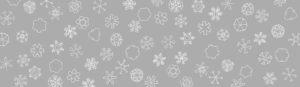 雪の結晶のドローイングを使ったパッケージイラスト