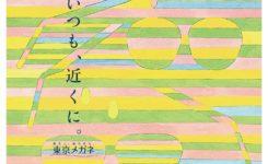 東京メガネの水彩パターンイラストの店内ポスター