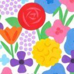 よこはまグルメマップ「花味絵図」ビジュアルイラスト
