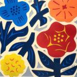 花のアートワーク作品