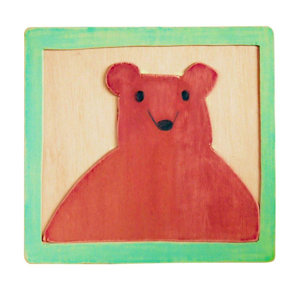 クマのポートレイト