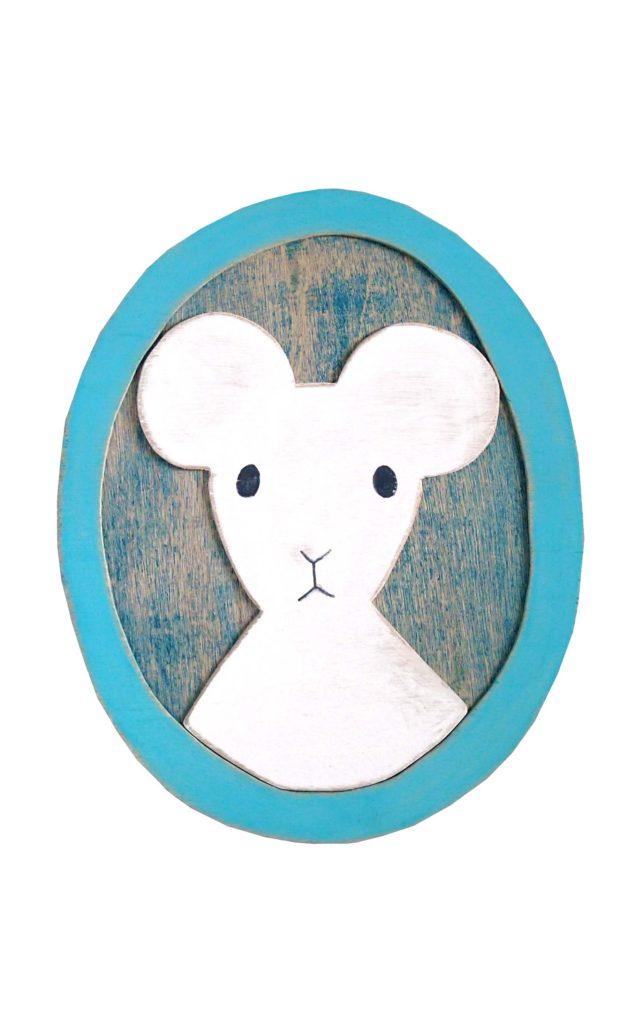 ネズミのポートレイト