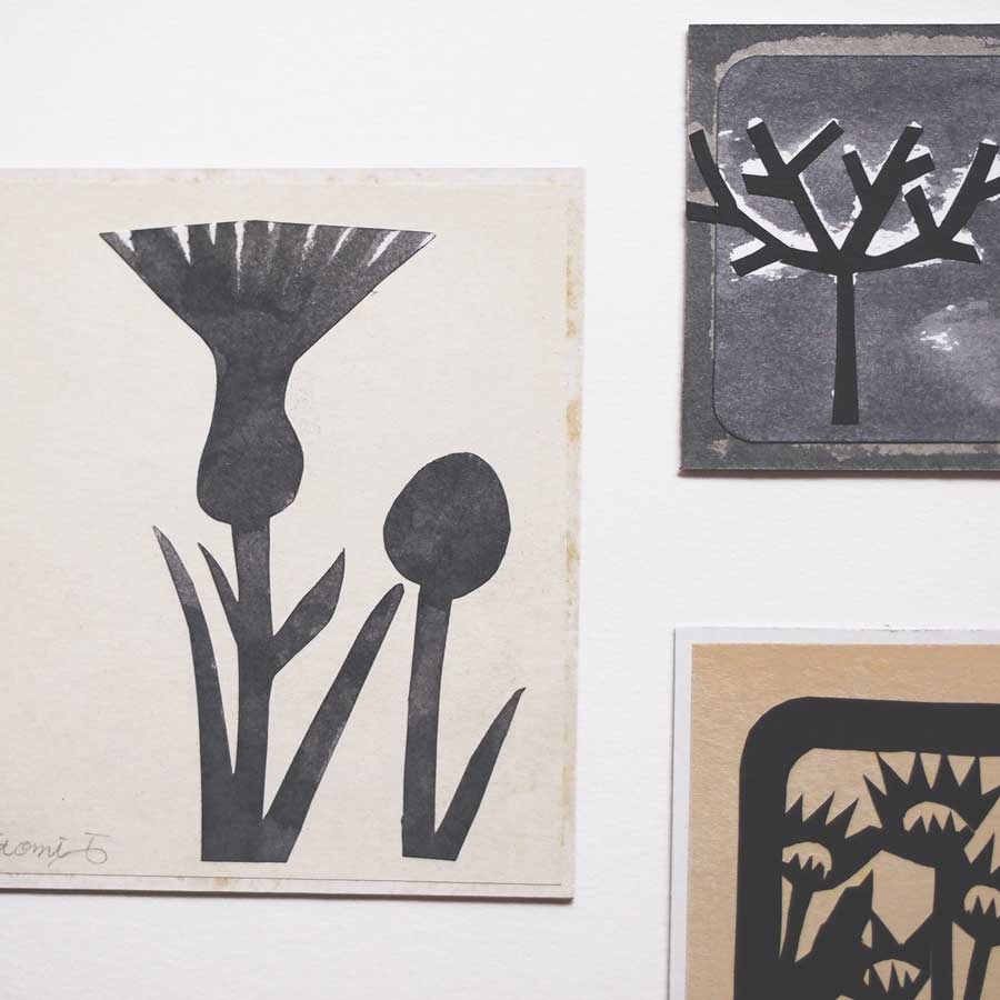 小さい切り絵作品2004-2005