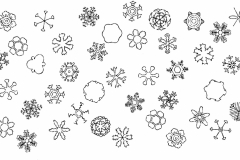 バーム_雪