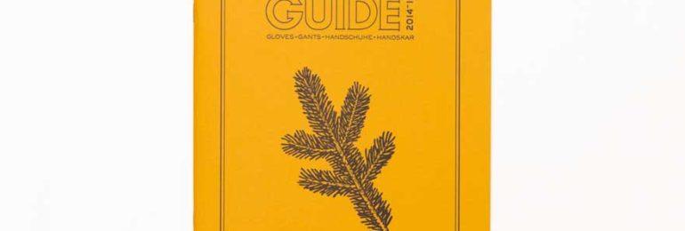 HESTRAパンフ表紙の松の葉ドローイングイラスト