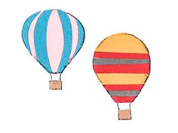 十勝地方の情報を発信するウェブメディア「トカチナベ」の気球のイラスト
