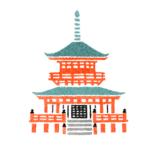 雑誌anan 京都奈良イラストMAP