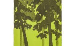 北欧の森のイラスト