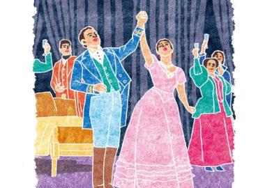 オペラ椿姫の乾杯のシーン